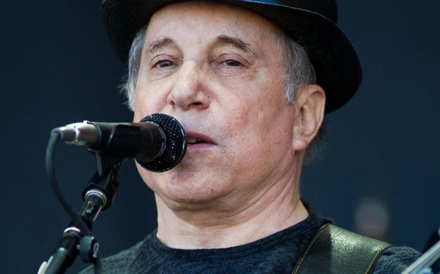"Musician Paul Simon is 75. It's a good time to click here and hear ""Me and Julio Down by the Schoolyard."" (Getty Images: Ian Gavan)"