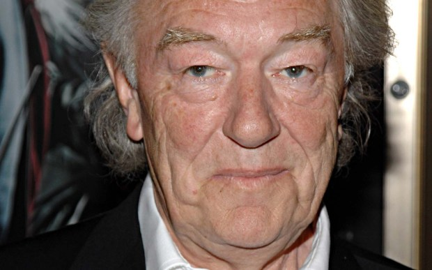 "Actor Michael Gambon — the ""Harry Potter"" movies, ""Gosford Park"" — is 76. (Associated Press: Peter Kramer)"