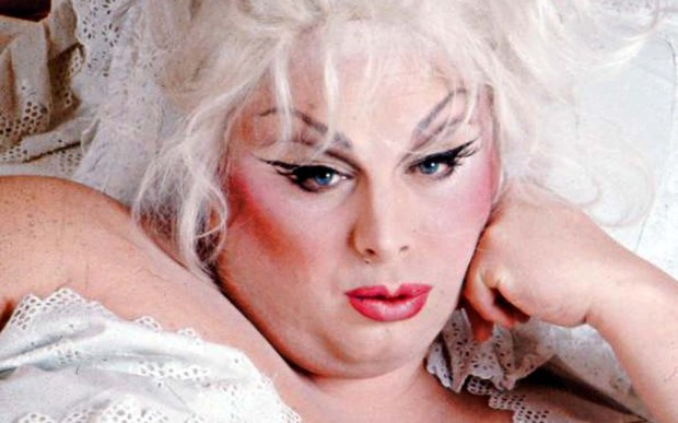"The late entertainer and actress Divine was born on this day in 1945. The John Waters darling and co-star of ""Pink Flamingos"" and ""Hairspray"" died in 1988 at age 42. (Courtesy of clashmusic.com)"