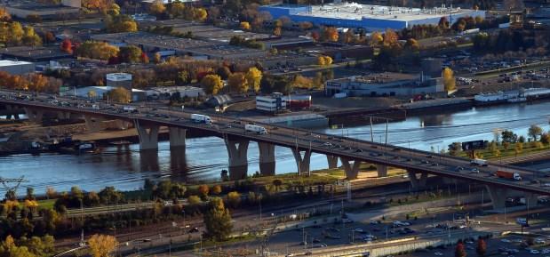 Lafayette Bridge in St. Paul