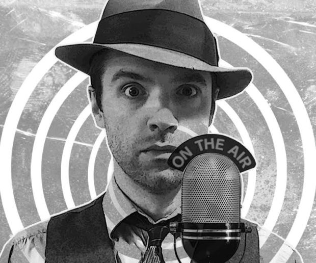 "Joshua Scrimshaw is bringing his ""Mysterious Old Radio Listening Society"" to Bryant Lake Bowl in Minneapolis. (Courtesy photo)"
