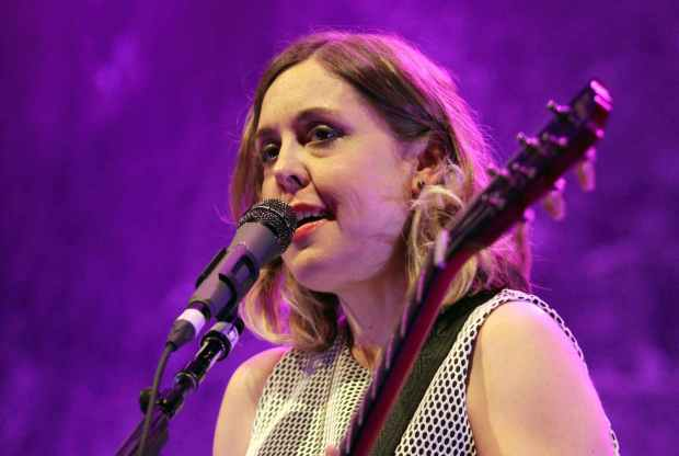Riot grrl singer and guitarist Corin Tucker of Sleater-Kinney is 44. (Robb D. Cohen/Invision/AP)