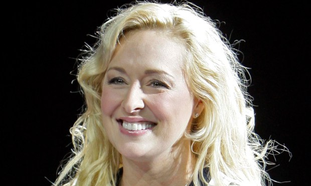 The late platinum-selling country singer Mindy McCready was born on this day in 1975. Her life was marked by talent and tragedy, and she died by suicide in 2013. (AP Photo/Mark Humphrey, File)