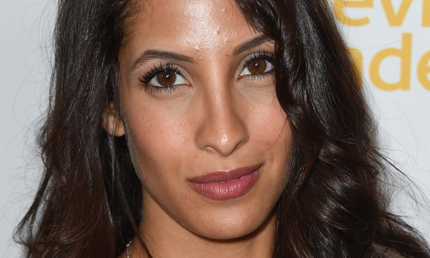 "Soap star Christel Khalil of ""The Young and the Restless"" is 27. (Photo by Frazer Harrison/Getty Images)"