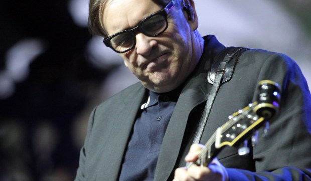 Singer-guitarist Chris Difford of Squeeze is 62. He's shown performing at 2012 Coachella in Indio, Calif. (Karl Walter/Getty Images for Coachella)