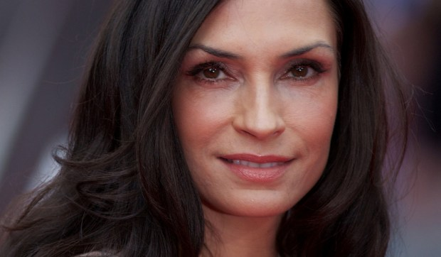 "Dutch actress Famke Janssen -- ""The Wolverine,"" ""X-Men: The Last Stand"" -- is 52. TYou might also have seen her on Neflix's horror thriller ""Hemlock Grove."" (Getty Images: Andrew Cowie)"
