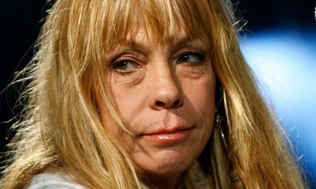 "Singer-songwriter Rickie Lee Jones is 62. A good time to hear her 1979 hit ""Chuck E's in Love."" (Keystone: Laurent Gillieron)"