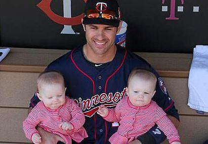 joe mauer family pictures