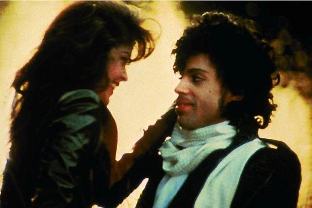 """Prince and Apollonia Kotero in 1984's """"Purple Rain."""""""
