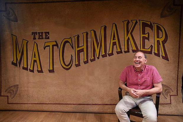 """Craig Johnson, the director of Girl Friday Productions' """"The Matchmaker,"""" photographed on the Andy Boss Thrust stage in St. Paul before rehearsal on Monday, July 6, 2015. (Pioneer Press: Holly Peterson)"""