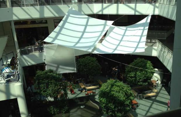 """The """"Wilson"""" set at the Mall of America on Tuesday, July 14, 2015. (Pioneer Press: Chris Hewitt)"""