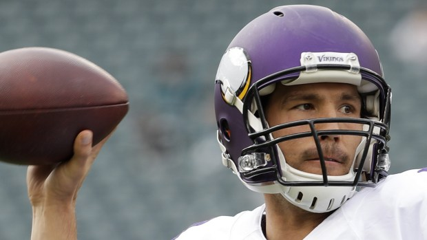 Minnesota Vikings quarterback Sam Bradford is 29. (AP Photo/Chris Szagola)