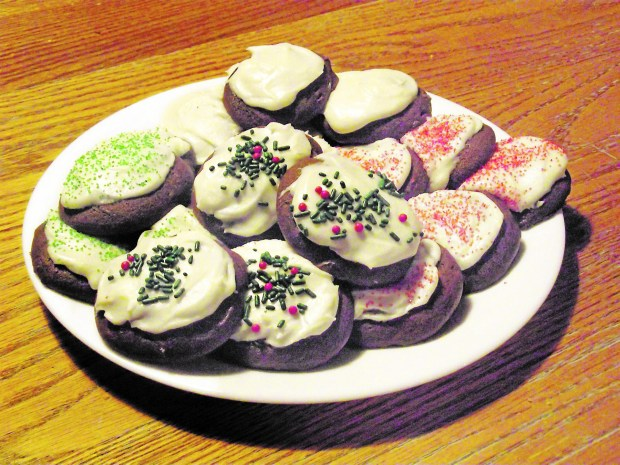 A plate of Gram's Ginger Cream Cookies. (Courtesy of Carol Morgan)