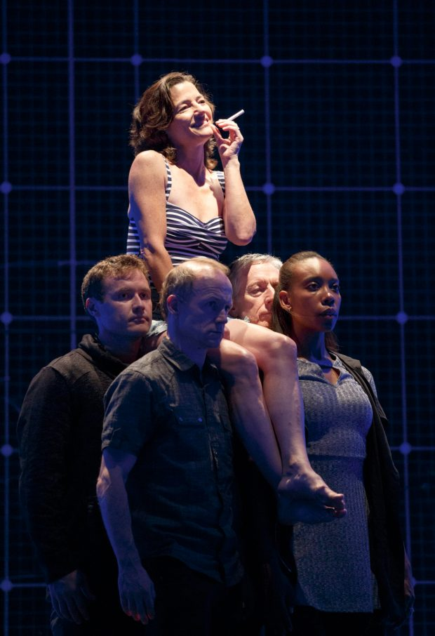 "Minneapolis native Felicity Latta Jones in ""The Curious Incident of the Dog in the Night-time."" (Hennepin Theatre Trust) Adam Langdon"