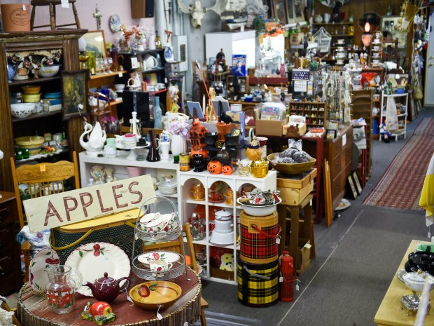 Antiques White Bear has been a staple for over 30 years in White Bear Lake on Monday, October 10, 2016. (Special to the Pioneer Press: Craig Lassig)