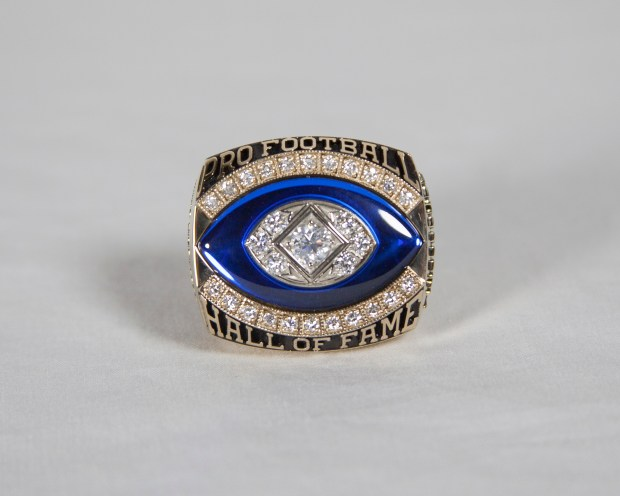 The Hall of Fame Ring of Excellence is pictured. (Courtesy Pro Football Hall of Fame)