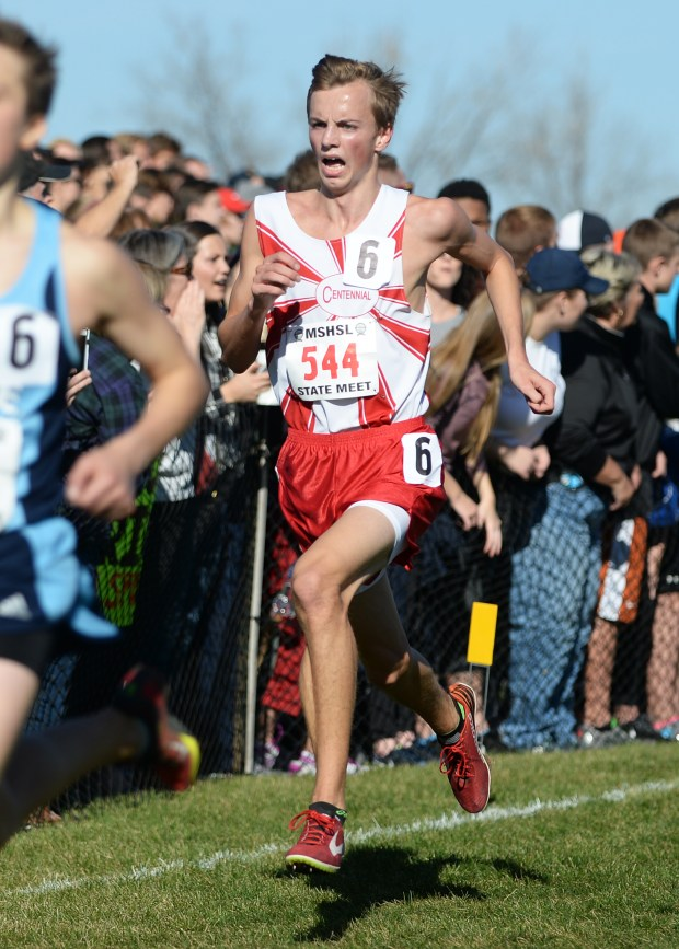 Mounds Park's Dahlberg wins state cross country title