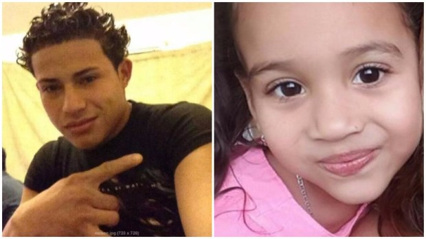Nelson Geovanny Soto-Lopez, 24, is believed to be with 5-year-old Cristal Mariel Olivia Aguilar. (Courtesy photos)