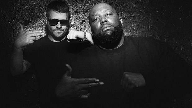 El-P (Jaime Meline) and Killer Mike (Michael Render) are Run the Jewels. (Photo by Timothy Saccenti)