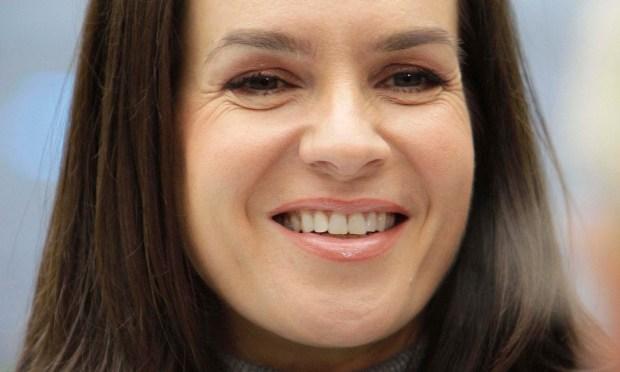 German figure skater Katarina Witt is 51. (Associated Press: Gerry Broome)