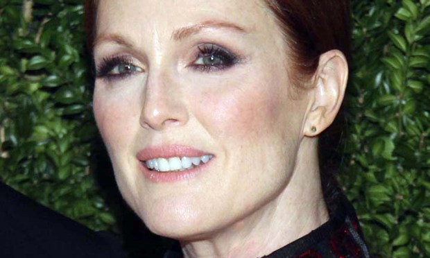 "Actress Julianne Moore of ""Hunger Games: ""Mockingjay"" (both parts) and ""Still Alice"" is 56. Among her great credits are the movies ""The Hours,"" ""Far From Heaven,"" ""The Big Lebowski"" and ""A Single Man"" and TV's ""30 Rock"" and ""As the World Turns."" She was in the Guthrie Theater's 1988 production of ""Hamlet."" (Getty Images: Mireya Acierto)"