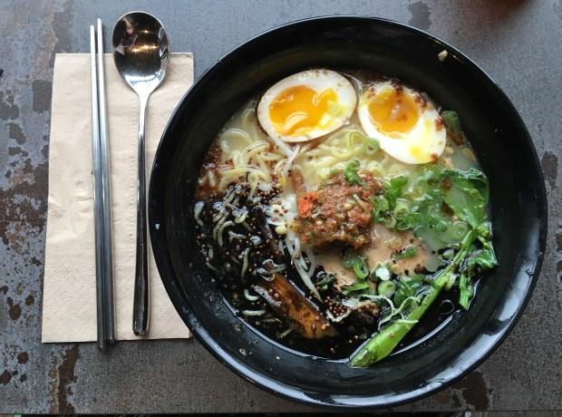 Ah See Yah ramen at Tori Ramen in St. Paul. (Pioneer Press: Jess Fleming)