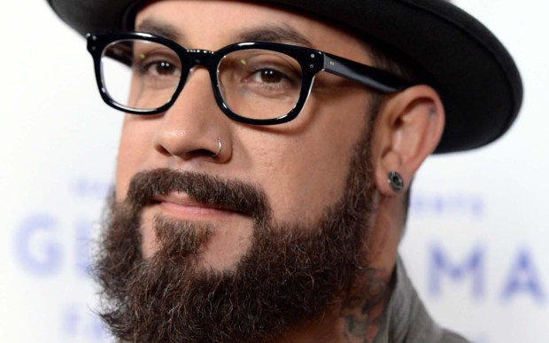 Singer A.J. McLean of the Backstreet Boys is 39. (Getty Images: Michael Kovac)