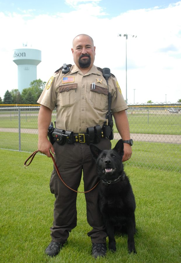 St. Croix County Sheriff's Office deputy Ryan Fowler, shown in a 2015 photo. (RiverTown Multimedia file photo)
