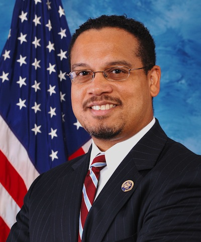 U.S. Rep. Keith Ellison represents Minnesota's 5th Congressional District in the U.S. House of Representatives. (Photo courtesy U.S. House of Representatives)