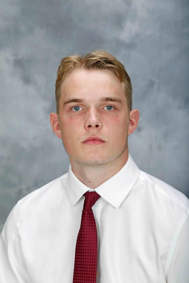 Undated courtesy photo, circa Aug. 2016, of University of Minnesota Gophers men's hockey player Ryan Lindgren. Photo courtesy of University of Minnesota Athletics.
