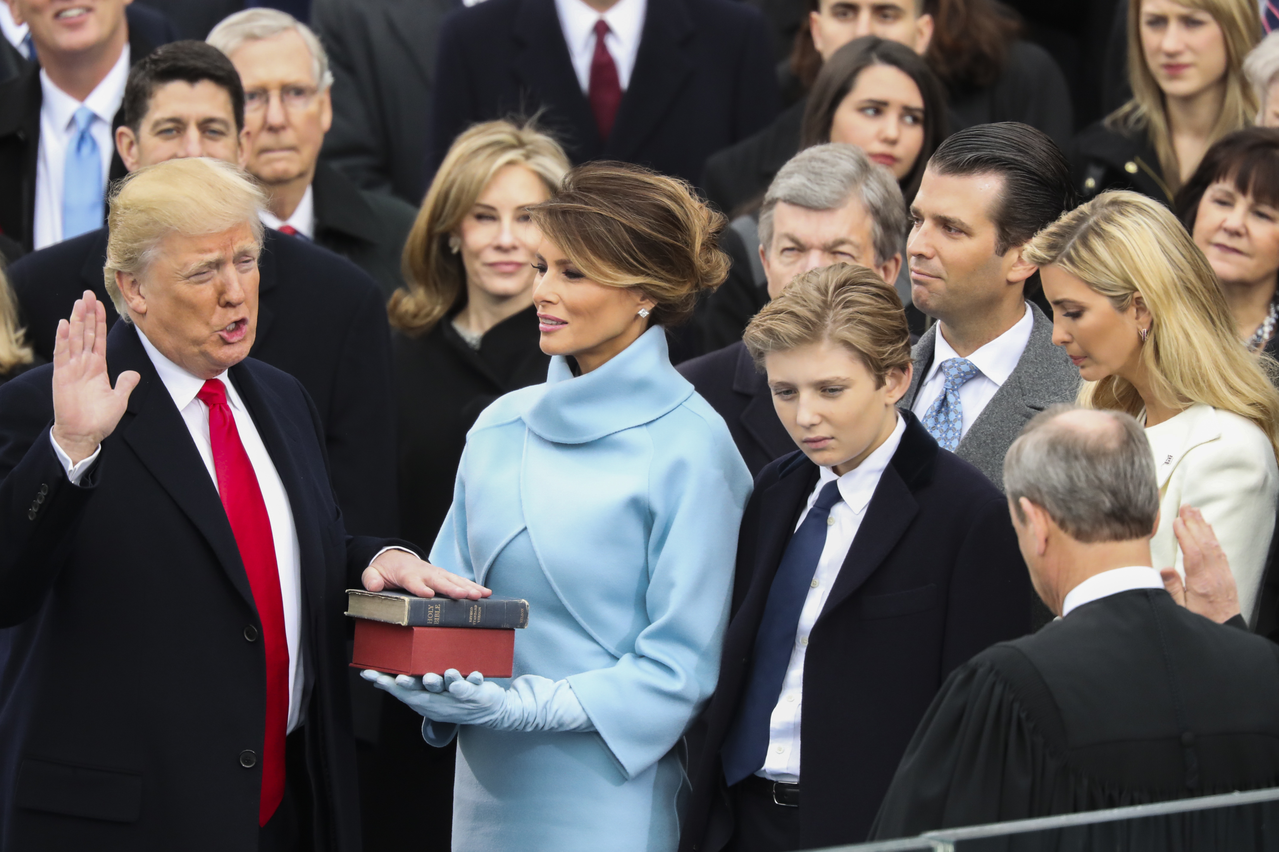 Image result for 45th presidential inauguration