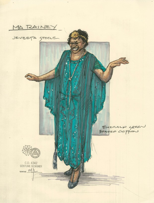 """August Wilson wrote """"Ma Rainey's Black Bottom"""" in 1982. It tells the story of a jazz artist and her band in 1920s Chicago. It is part of Wilson's 10-play series, """"The Twentieth Century Cycle,"""" which chronicles each decade of African American experience in the 20th century. Penumbra staged the play in 1987, 1996 and 2011. Mathew J. LeFebvre designed the costumes for the 2011 production."""