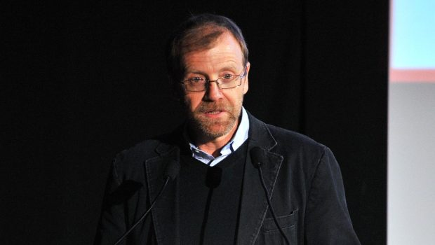 George Saunders speaks at the 2009 New Yorker Festival: Shouts & Murmurs Live Humor Revue in New York City. (Photo by Andrew H. Walker/Getty Images for The New Yorker)
