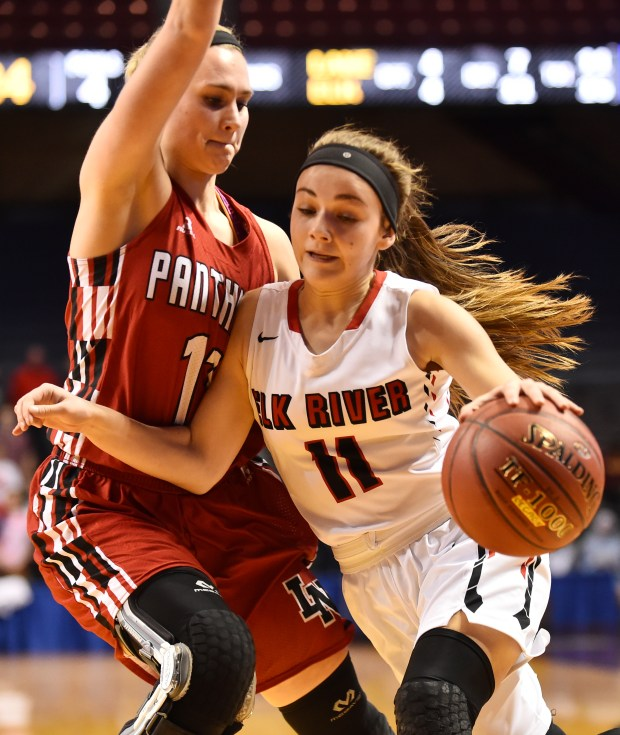 State girls basketball: Elk River holds off Lakeville ...