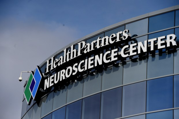 The new HealthPartners Neuroscience Center in St. Paul on Friday, March 31, 2017. The five-level $75 million center on Phalen Boulevard opens Monday. More than 50,000 patients a year are expected to use the new center, which will employ some 200 physicians and staffers. The 130,000 square feet of clinical, rehab and research space is dedicated to virtually any kind of neurological condition. Jean Pieri / Pioneer Press
