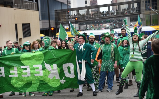 Scenes from St. Paul's annual St. Patrick's Day Parade ...