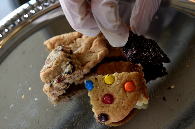 Cookies (oatmeal raisin, peanut butter, ginger snap, double chocolate, snickerdoodle and M & M's) from Cookie Cart will be available at Target Field in Minneapolis this baseball season. On Thursday, March 30, 2017, the Minnesota Twins and Delaware North Sportservice, the teams exclusive food, beverage and retail partner, announced a variety of new menu offerings to be served at the ballpark during the 2016 season. Jean Pieri / Pioneer Press