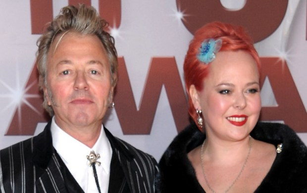 "Minnesota resident and musician Brian Setzer, formerly of the Stray Cats — ""Rock This Town,"" ""Stray Cat Strut"" — and of the Honeydrippers and the Brian Setzer Orchestra, is 54. He also portrayed Minnesota native Eddie Cochrane in ""La Bamba,"" the 1987 biopic about Richie Valens. The Brian Setzer Orchestra – ""Jump, Jive an' Wail"" – won a Grammy nomination. Setzer lives in Minneapolis with his Minnesota-native wife, Julie Reiten, right, a former singer with the Dustbunnies, whom Setzer met when Reiten auditioned and then was hired as a back-up singer for the Brian Setzer Orchestra in 2000. (Getty Images: Michael Loccisano)"