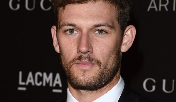 LOS ANGELES, CA - NOVEMBER 01: Actor Alex Pettyfer attends the 2014 LACMA Art + Film Gala honoring Barbara Kruger and Quentin Tarantino presented by Gucci at LACMA on November 1, 2014 in Los Angeles, California. (Photo by Jason Merritt/Getty Images for LACMA)