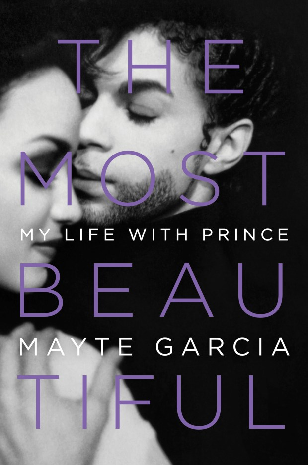 """This cover image released by Hachette Books shows """"The Most Beautiful: My Life with Prince,"""" by Mayte Garcia. (Hachette Books via AP)"""