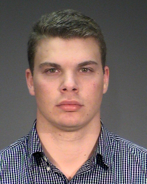 April 7, 2017 courtesy photo of Drew Tyler Fleming, 21, of North Hudson, Wis. Fleming was charged with one count of reckless driving in connection with a Feb. 29, 2016, crash in West Lakeland Township that killed Megan Goeltz, 22, of Hudson, Wis. (Courtesy of the Washington County Sheriff's Office)