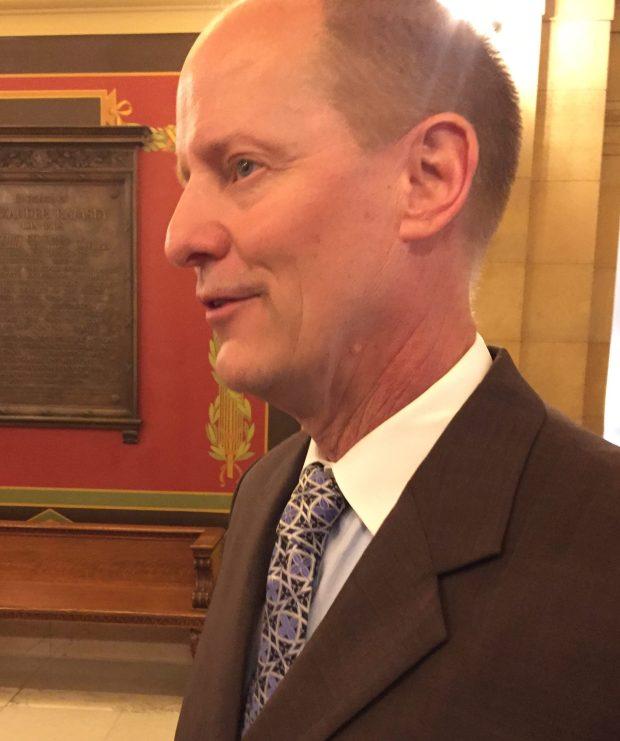 Senate Majority Leader Paul Gazelka on April 25, 2017 (Rachel E. Stassen-Berger)