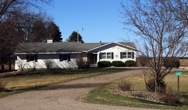 Joseph Thomas Hawkinson, a fugitive since March 2014, and his girlfriend, Gladys Rojas, moved into this home in Marshan Township in rural Dakota County in 2016. Hawkinson, 29, a two-time convicted felon wanted for violating a condition of his parole, assumed someone else's identity and moved to rural Dakota County where he managed to mix back into society and stay on the lam for three years by living a regular working man's life and keeping out of trouble. (Nick Ferraro / Pioneer Press)