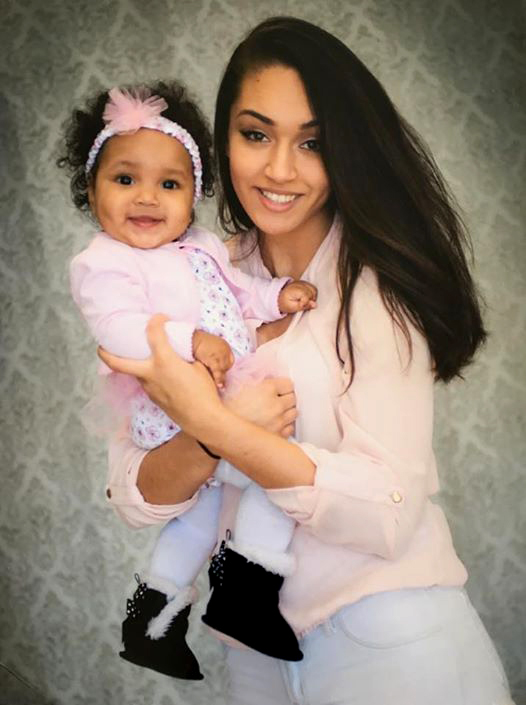 Maria McIntosh is pictured with her daughter, Cheyenne. McIntosh, 19, and her father and sister were fatally shot in St. Paul on Friday, April 7, 2017. (Courtesy of Zayna Evans)