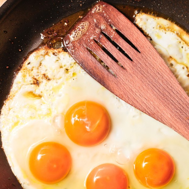 Fried eggs are a staple ingredient of huevos rancheros. (Dreamstime.com)