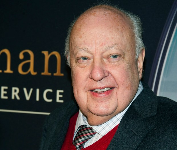 """In this Feb. 9, 2015, photo, Roger Ailes attends a special screening of """"Kingsman: The Secret Service"""" in New York. (Photo by Charles Sykes/Invision/AP)"""