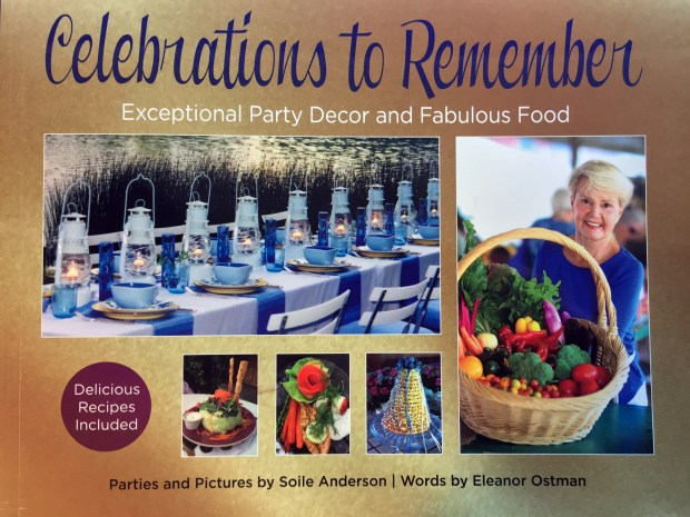 """Undated courtesy photo, circa May 2017, of the book cover of """"Celebrations To Remember,"""" by Eleanor Ostman and Soile Anderson."""
