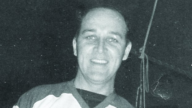 Dan McKinnon, an Olympic hockey silver medalist in 1956, is hospitalized with severe injuries after a Memorial Day crash involving him and other American Legion members on their way to a cemetery to honor fallen soldiers in Roseau County, according to American Legion members. (Courtesy of University of North Dakota)