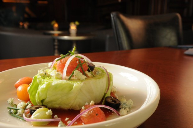 The Lex Salad at The Lexington restaurant in St. Paul recently opened it's doors after undergoing a renovation and revamping it's menu on Tuesday, May 2, 2017. Pioneer Press/Ginger Pinson