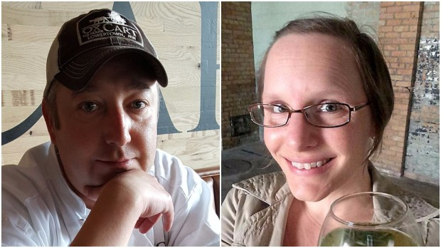 Andrew Lilja and Stephanie Kochlin